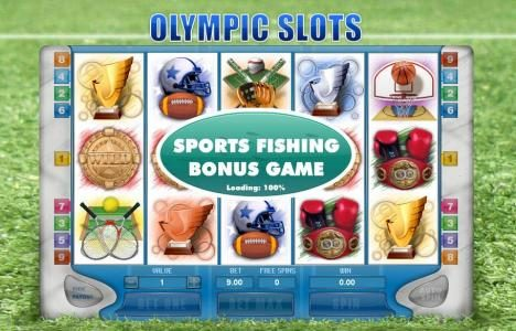 Money Storm featuring the Video Slots Olympic Slots with a maximum payout of $10,000