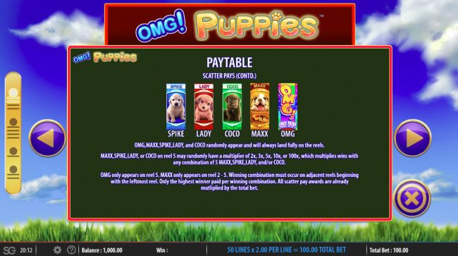 OMG! Puppies :: Feature Rules
