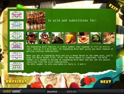 Play slots at Solara: Solara featuring the Video Slots One Million Ants with a maximum payout of $25,000
