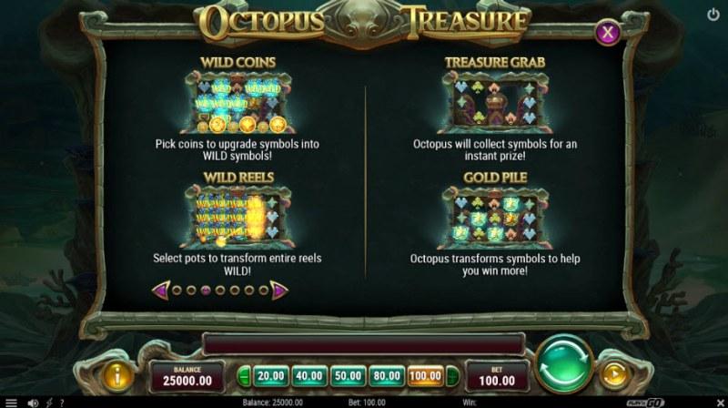 Octopus Treasure :: Feature Rules