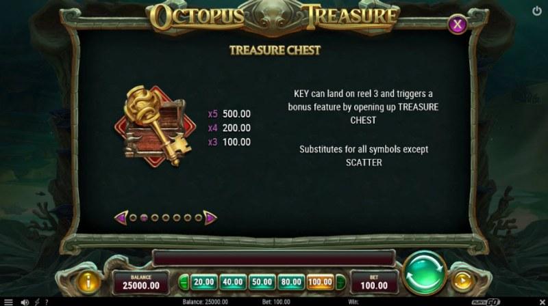 Octopus Treasure :: Treasure Chest