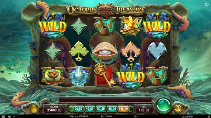 Octopus Treasure :: Main Game Board