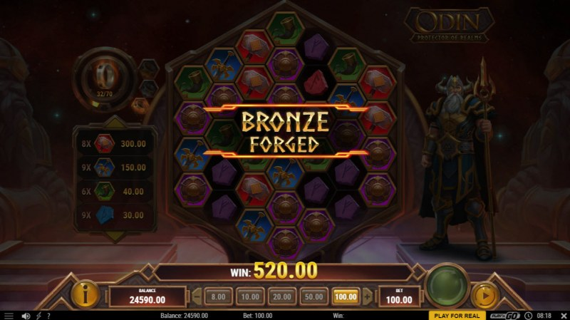 Odin Protector of Realms :: Bronze Forge activated