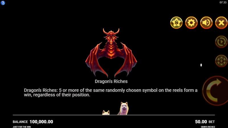 Odin's Riches :: Dragon's Riches
