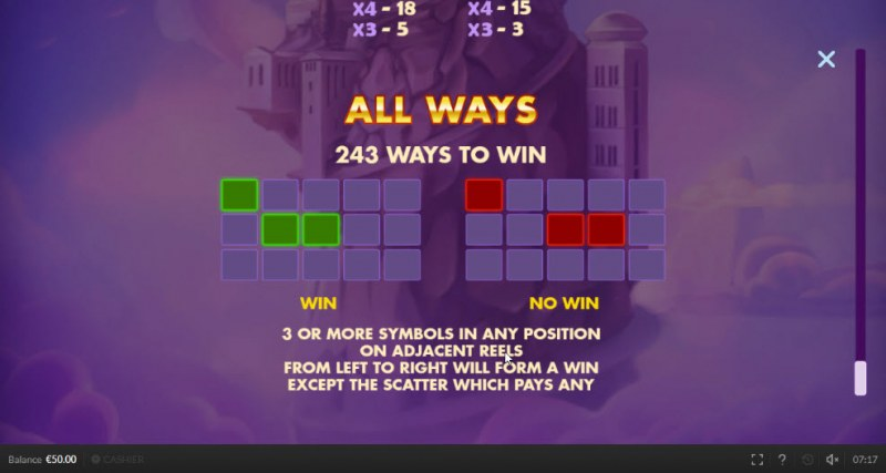 Olympic Cash :: 243 Ways to Win