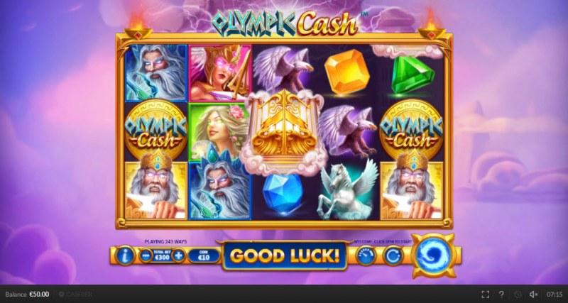 Olympic Cash :: Main Game Board