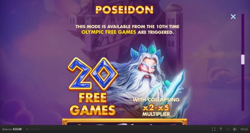 Olympic Cash :: Poseidon Free Games