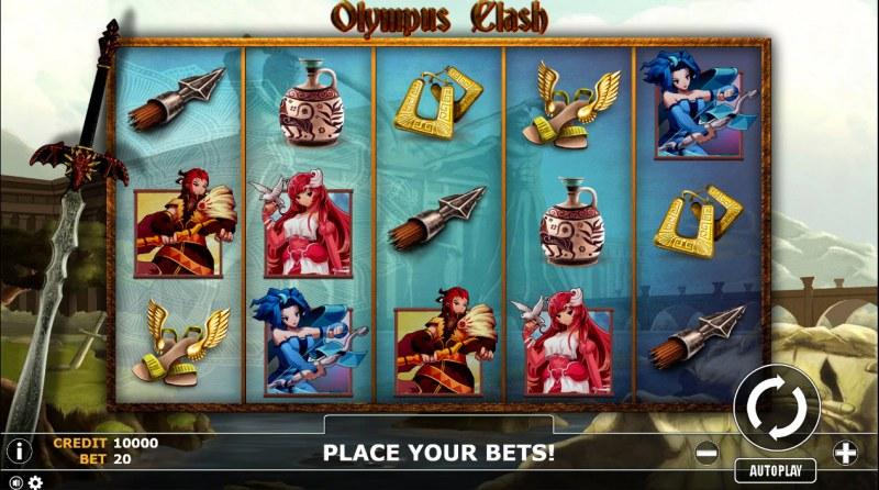 Olympus Clash :: Main Game Board