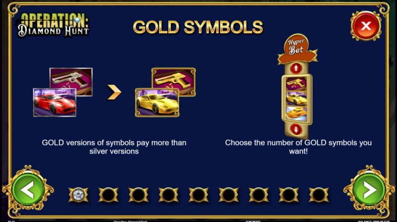 Operation Diamond Hunt :: Gold Symbols