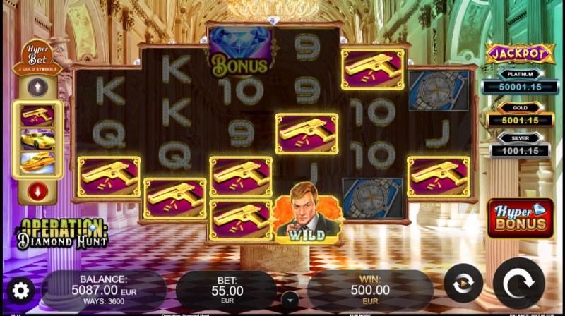 Operation Diamond Hunt :: Multiple winning combinations