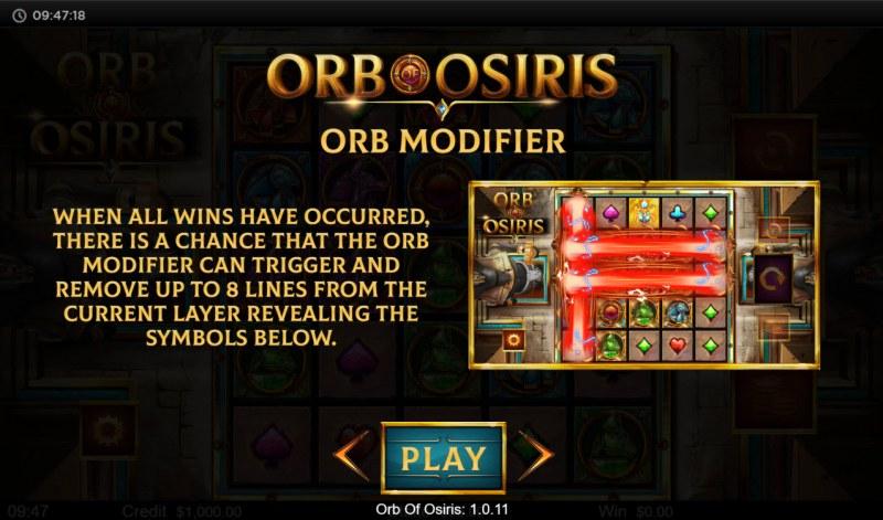Orb of Osiris :: Orb Modifier