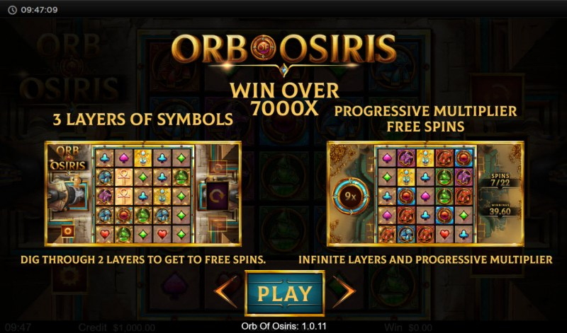 Orb of Osiris :: Feature Rules