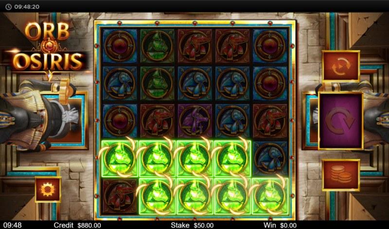 Orb of Osiris :: Multiple winning combinations