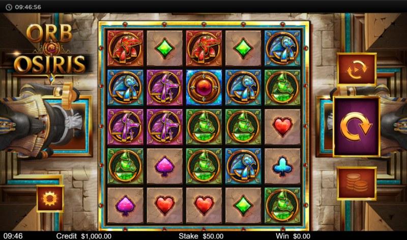 Orb of Osiris :: Main Game Board