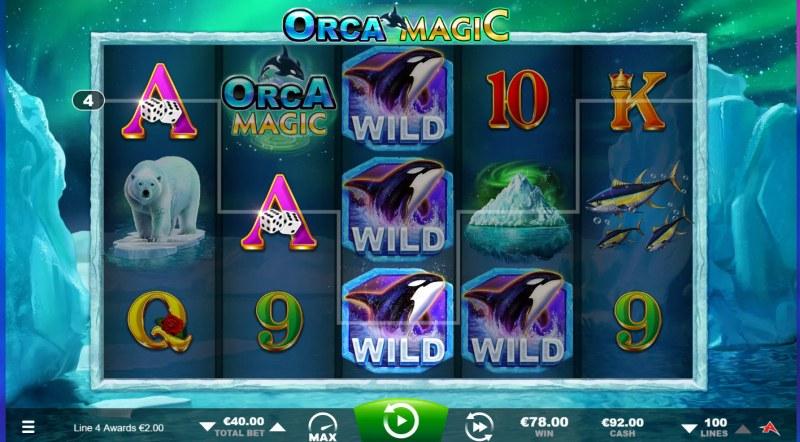 Orca Magic :: Multiple winning paylines