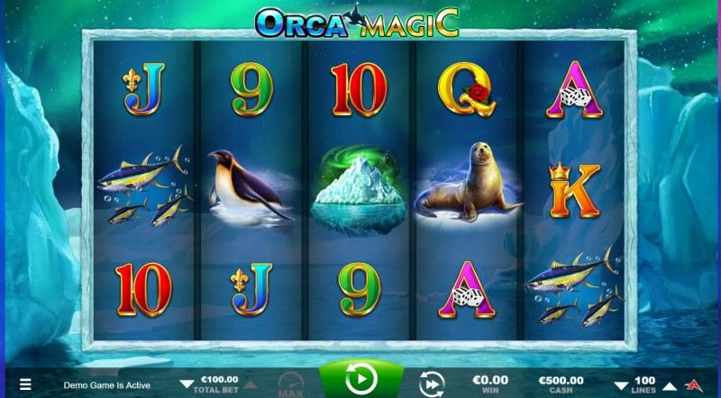 Orca Magic :: Base Game Screen