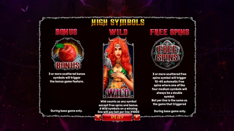 Origins of Lilith Expanded Edition :: Paytable - High Value Symbols