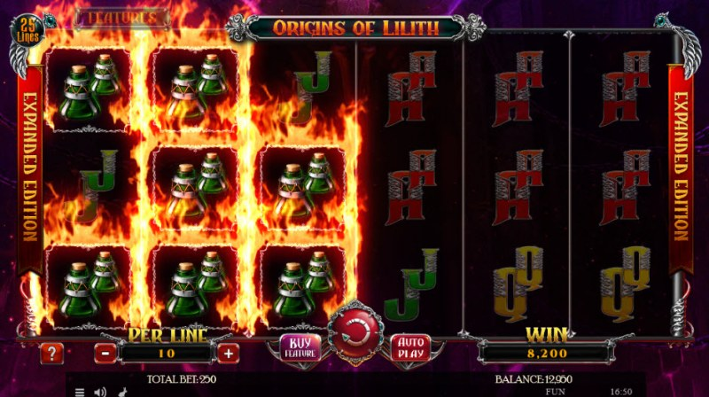 Origins of Lilith Expanded Edition :: Three of a kind win