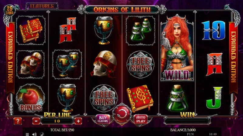 Origins of Lilith Expanded Edition :: Main Game Board