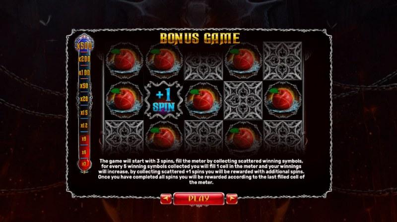 Origins of Lilith :: Bonus Game Rules