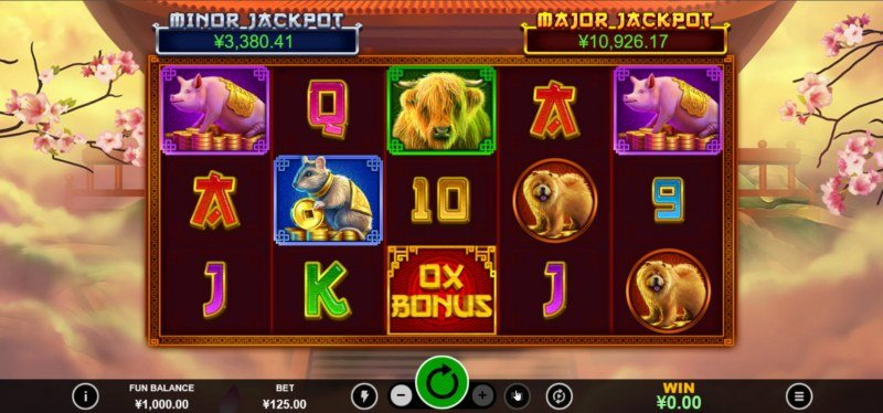 Ox Bonanza :: Main Game Board