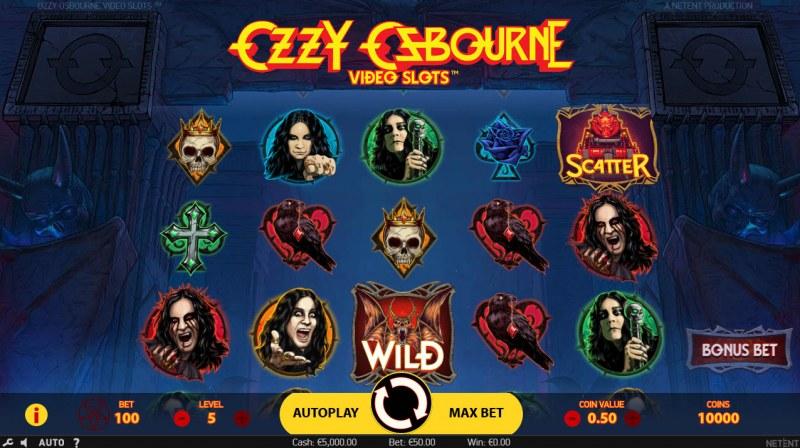 Ozzy Osbourne :: Main Game Board