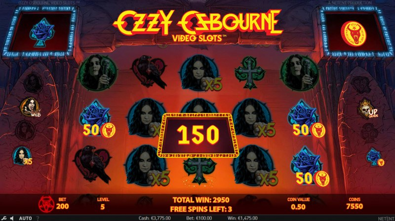 Ozzy Osbourne :: Scatter Win