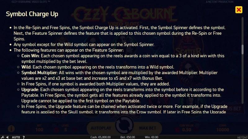 Ozzy Osbourne :: Feature Rules
