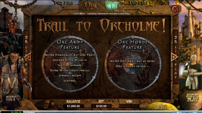 Orc vs Elf :: Trail to Orcholme Rules - Continued