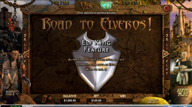 Orc vs Elf :: Road to Elveros - Elf King Feature