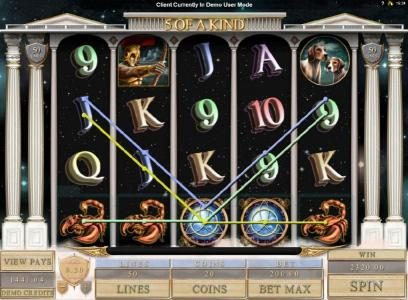 Casino Extra featuring the Video Slots Orion with a maximum payout of $4,000