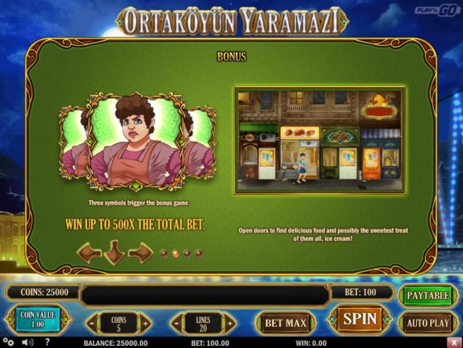 Play slots at Mr Green: Mr Green featuring the Video Slots Ortakoyun Yaramazi with a maximum payout of $60,000