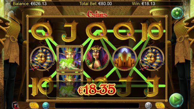 Osiris :: Multiple winning paylines