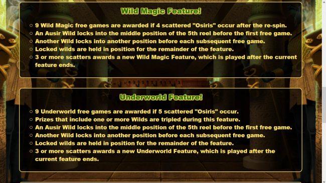 Osiris :: General Game Rules