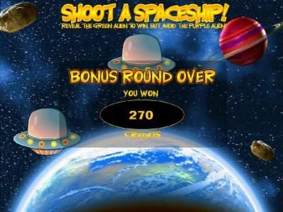 Vegas Crest featuring the Video Slots Out of this World with a maximum payout of $20,000