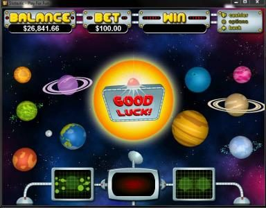 Slotter featuring the Video Slots Outta This World with a maximum payout of $250,000