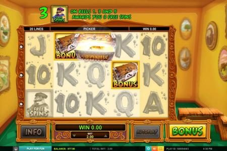 Casino Superlines featuring the Video Slots Pablo Picasslot with a maximum payout of $1,000