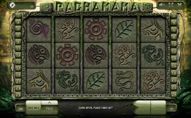 Crypto Wild featuring the Video Slots Pachamama with a maximum payout of $500,000