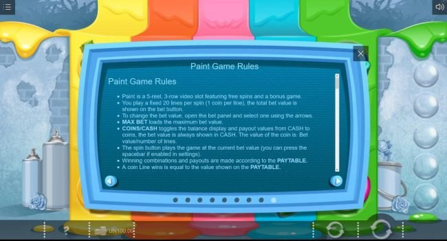 Paint :: General Game Rules