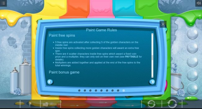 Paint :: Free Spins Rules