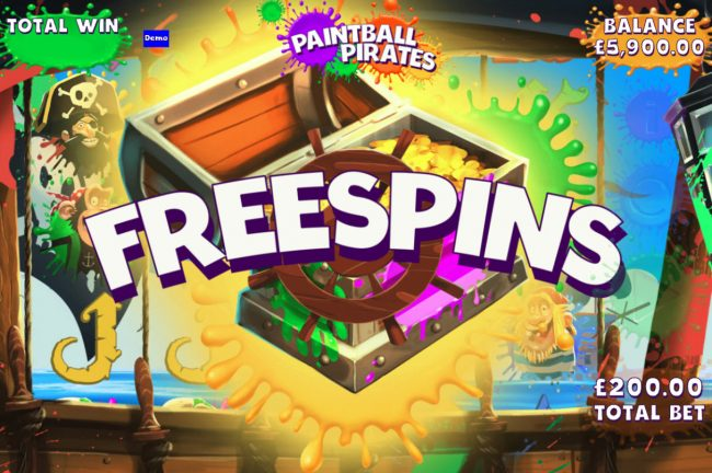 Casimba featuring the Video Slots Paintball Pirates with a maximum payout of $100,000