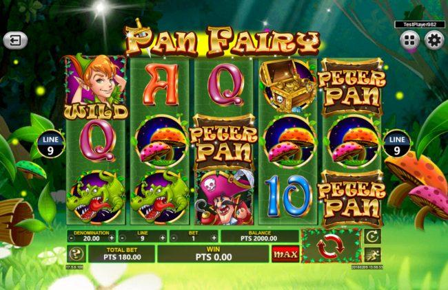 Pan Fairy :: Main Game Board