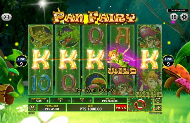 Pan Fairy :: A winning five of a kind