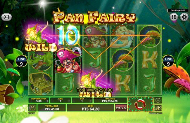 Pan Fairy :: Multiple winning paylines