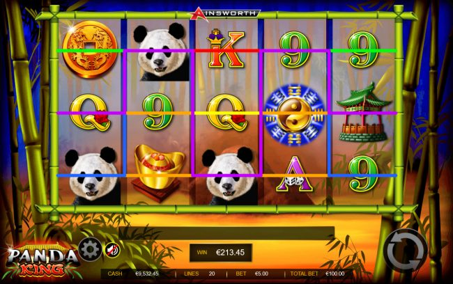 Malina featuring the Video Slots Panda King with a maximum payout of $200,000