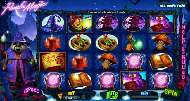 Kudos featuring the Video Slots Panda Magic with a maximum payout of $500,000