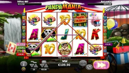 Casino 440 featuring the Video Slots Pandamania with a maximum payout of $6,000