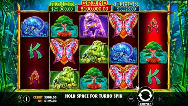 Crystal Casino Club featuring the Video Slots Panda's Fortune with a maximum payout of $100,000
