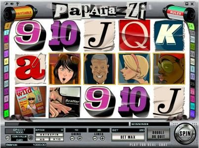 Play slots at Boaboa: Boaboa featuring the Video Slots Paparazzi with a maximum payout of $250,000