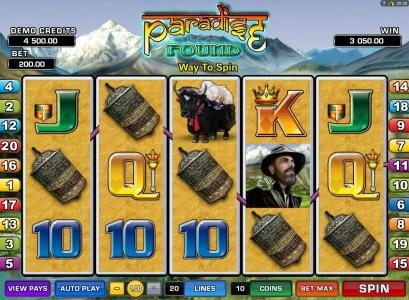 Play slots at Rich Reels: Rich Reels featuring the Video Slots Paradise Found with a maximum payout of $20,000